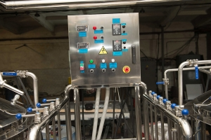 Brewhouse control panel simple and reliable design