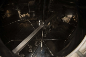 Lauter tun inside - view from the access hatch