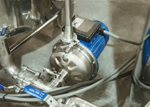 Italian Ebara Pump in pipelines of Brewhouse